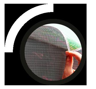 rotulación con vinilo microperforado y transparente