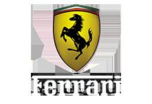 Rotulación de vehículos Ferrari en Toreejón de Ardoz