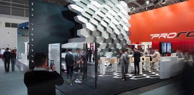 Diseño, fabricación y montaje urgente de Stands en IFEMA