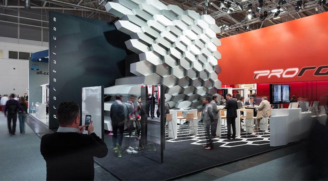 Diseño y montaje de stands para ferias, eventos y congresos