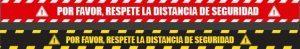 Adhesivos suelo distancia seguridad Andorra