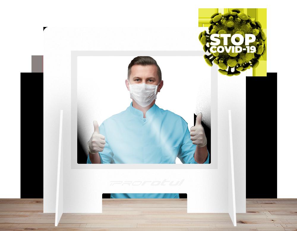 Mampras protección coronavirus PVC