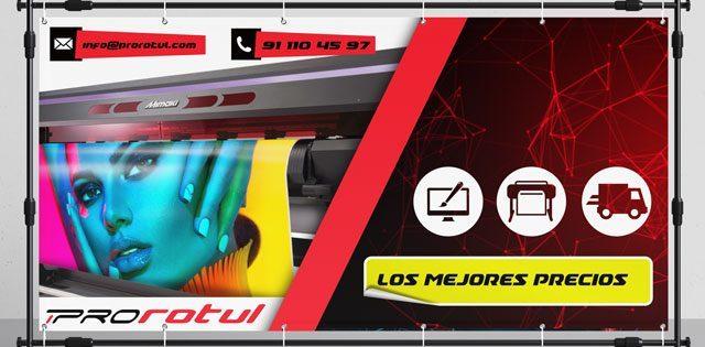 impresión digital de lonas de PVC en Madrid