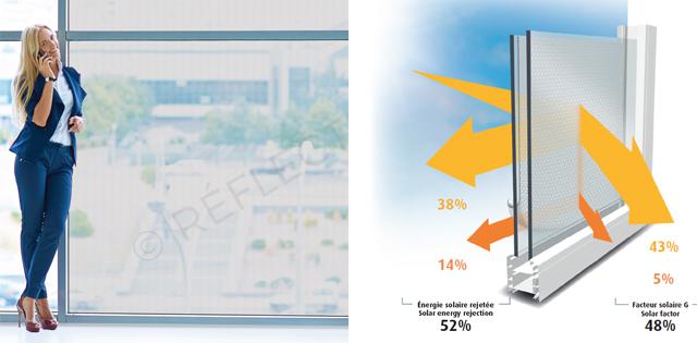 lámina de protección solar 52%