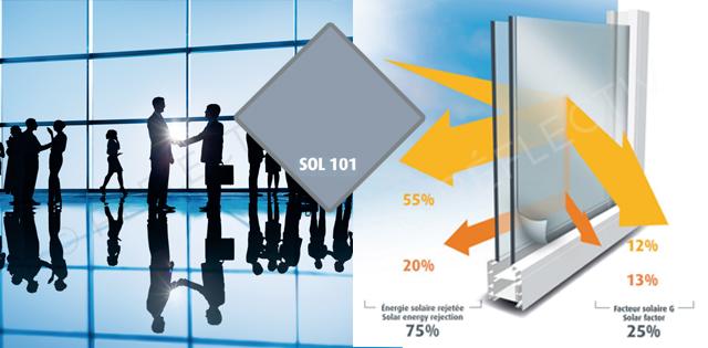 lámina de protección solar 75%