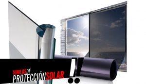 vinilos de protección solar escaparates