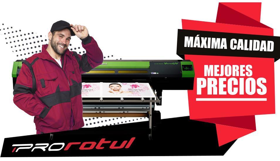 impresión Soporte rígido en Madrid de calidad