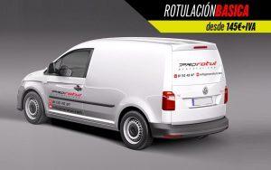 rotulación básica minivan