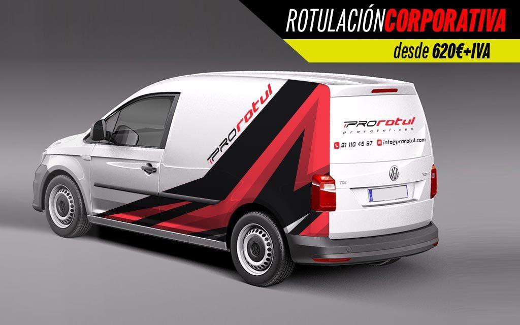 rotulación corporativa minivan